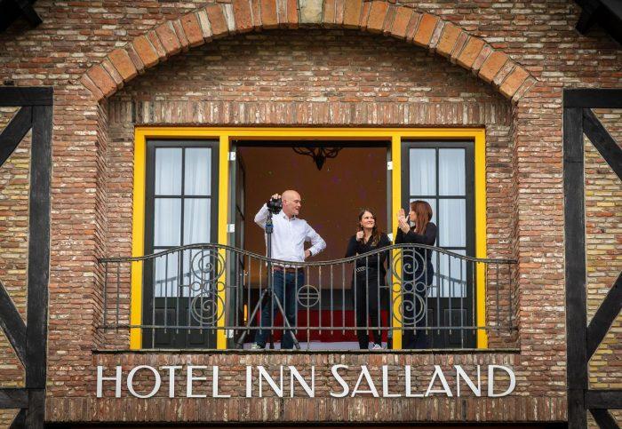 Balkon hotel Salland